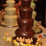 fantana ciocolata nunta cluj