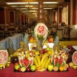 sculpturi fructe nunta cluj